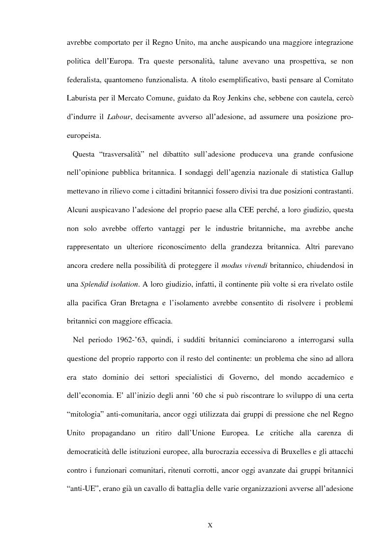 Anteprima della tesi: Una scelta contrastata. L'adesione del Regno Unito alla Comunità europea (1945-1963), Pagina 4