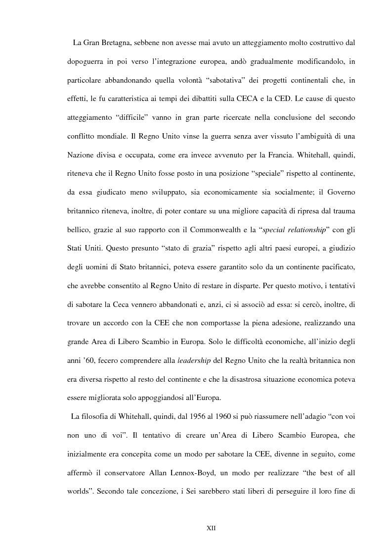 Anteprima della tesi: Una scelta contrastata. L'adesione del Regno Unito alla Comunità europea (1945-1963), Pagina 6