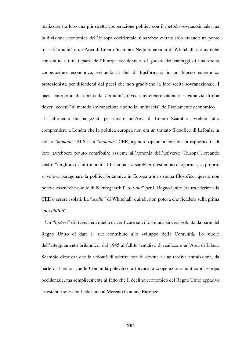 Anteprima della tesi: Una scelta contrastata. L'adesione del Regno Unito alla Comunità europea (1945-1963), Pagina 7
