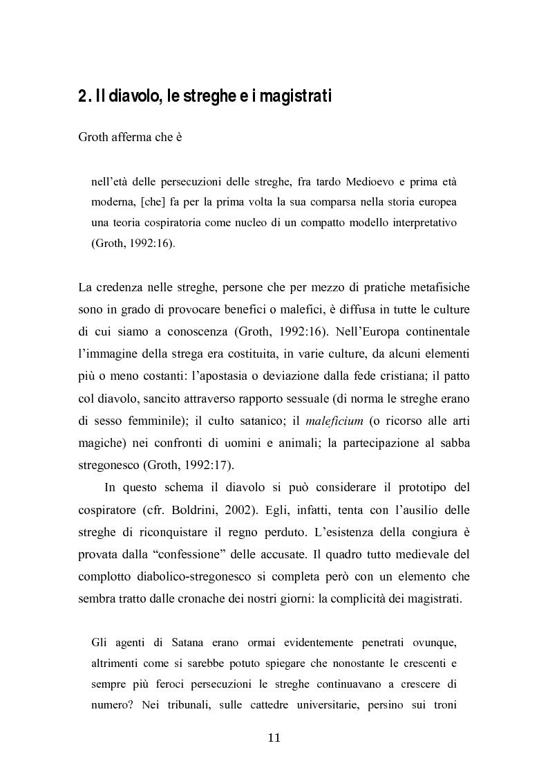 Anteprima della tesi: Complotto, congiura, cospirazione. L'uso politico delle teorie cospiratorie nei quotidiani italiani, Pagina 4