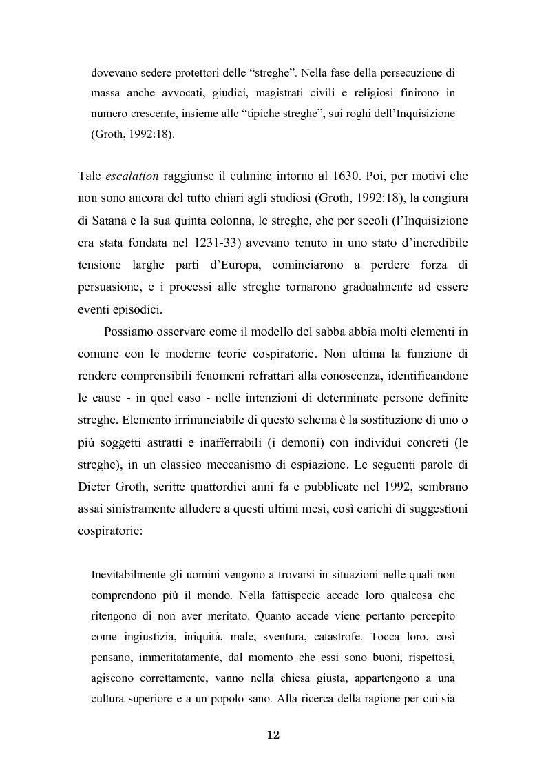 Anteprima della tesi: Complotto, congiura, cospirazione. L'uso politico delle teorie cospiratorie nei quotidiani italiani, Pagina 5