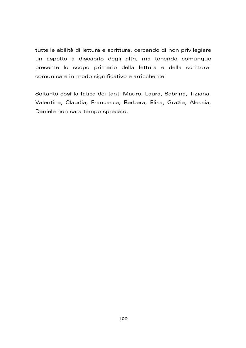 Anteprima della tesi: Risultati di un trattamento per il miglioramento delle abilità di lettura e di scrittura in soggetti con ritardo mentale, Pagina 15