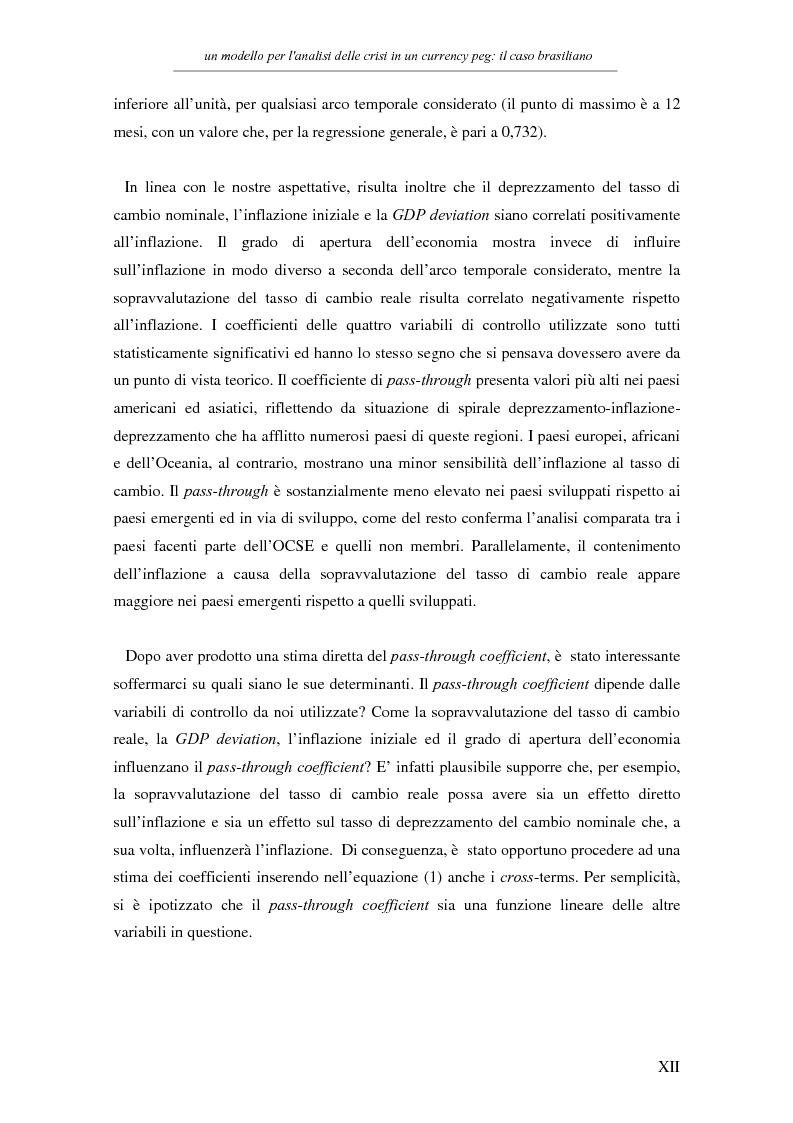 Anteprima della tesi: Un modello per l'analisi delle crisi in un currency peg: il caso brasiliano, Pagina 10