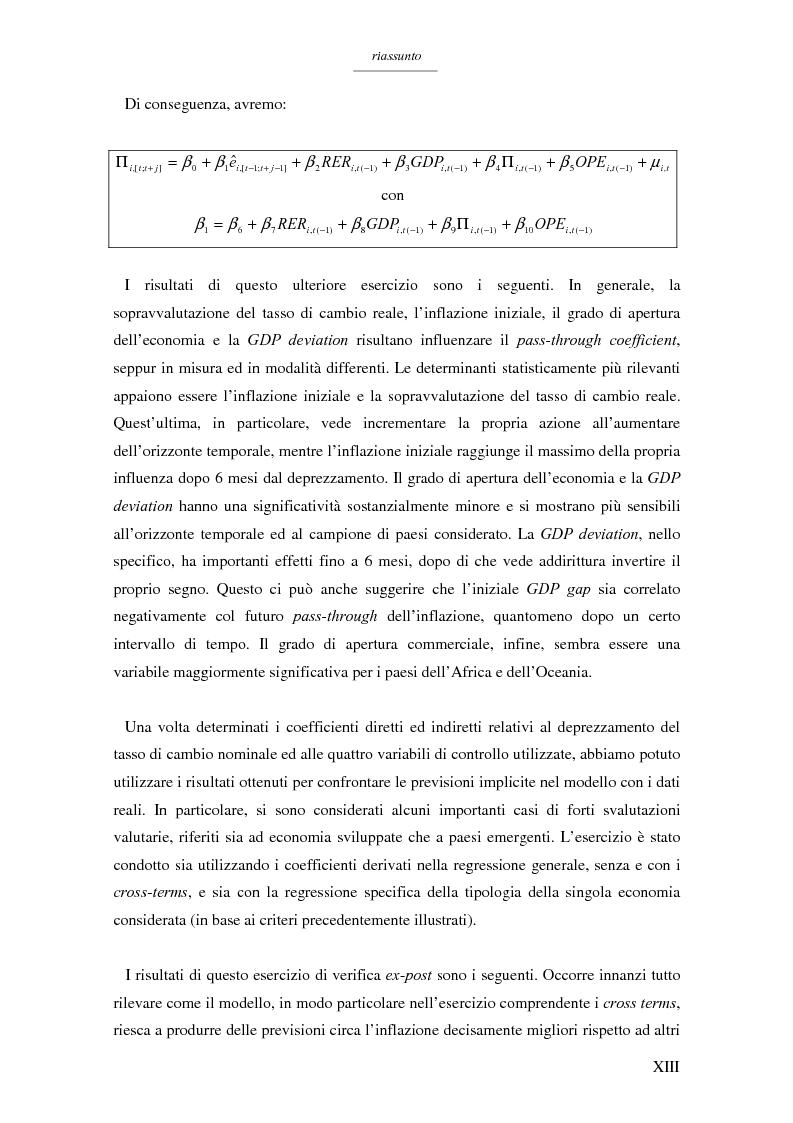 Anteprima della tesi: Un modello per l'analisi delle crisi in un currency peg: il caso brasiliano, Pagina 11