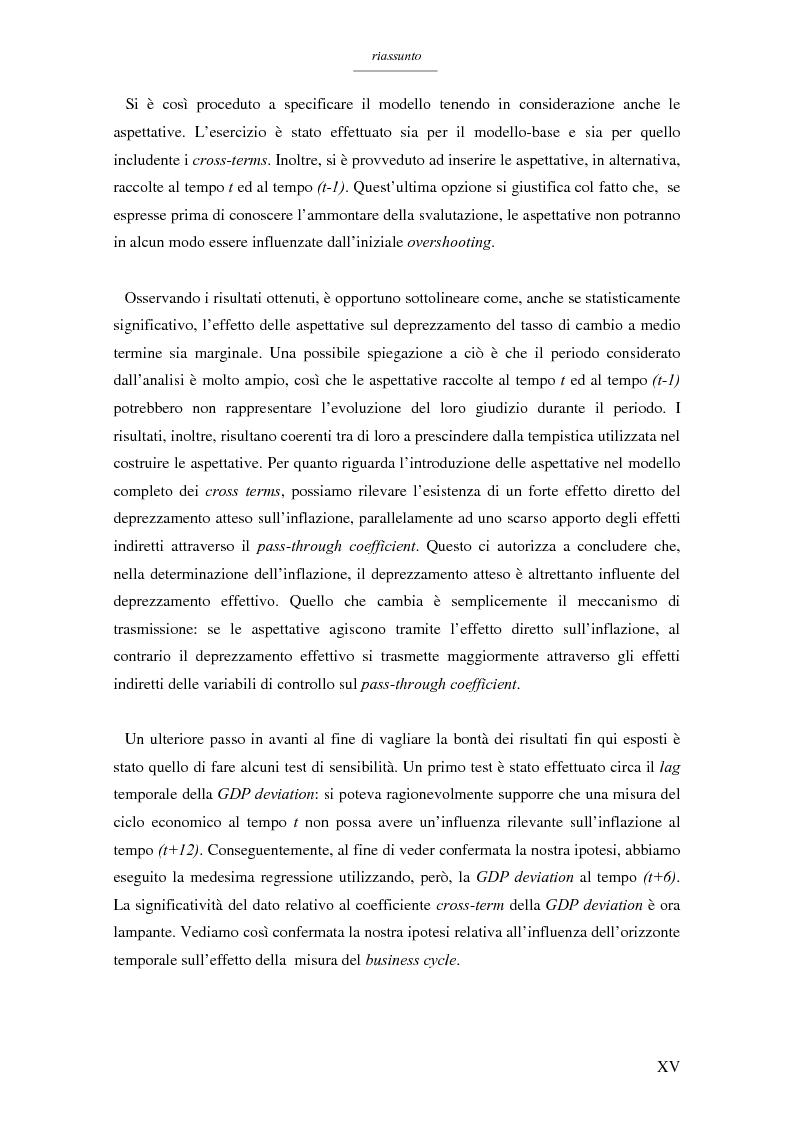 Anteprima della tesi: Un modello per l'analisi delle crisi in un currency peg: il caso brasiliano, Pagina 13