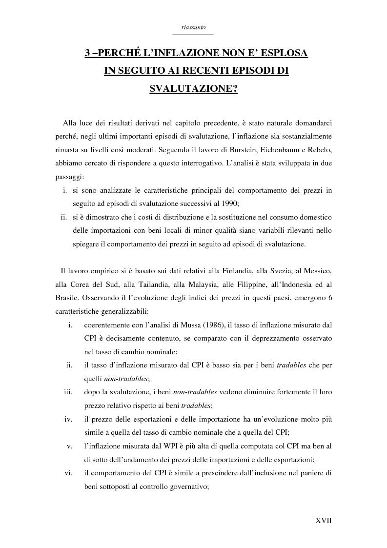 Anteprima della tesi: Un modello per l'analisi delle crisi in un currency peg: il caso brasiliano, Pagina 15