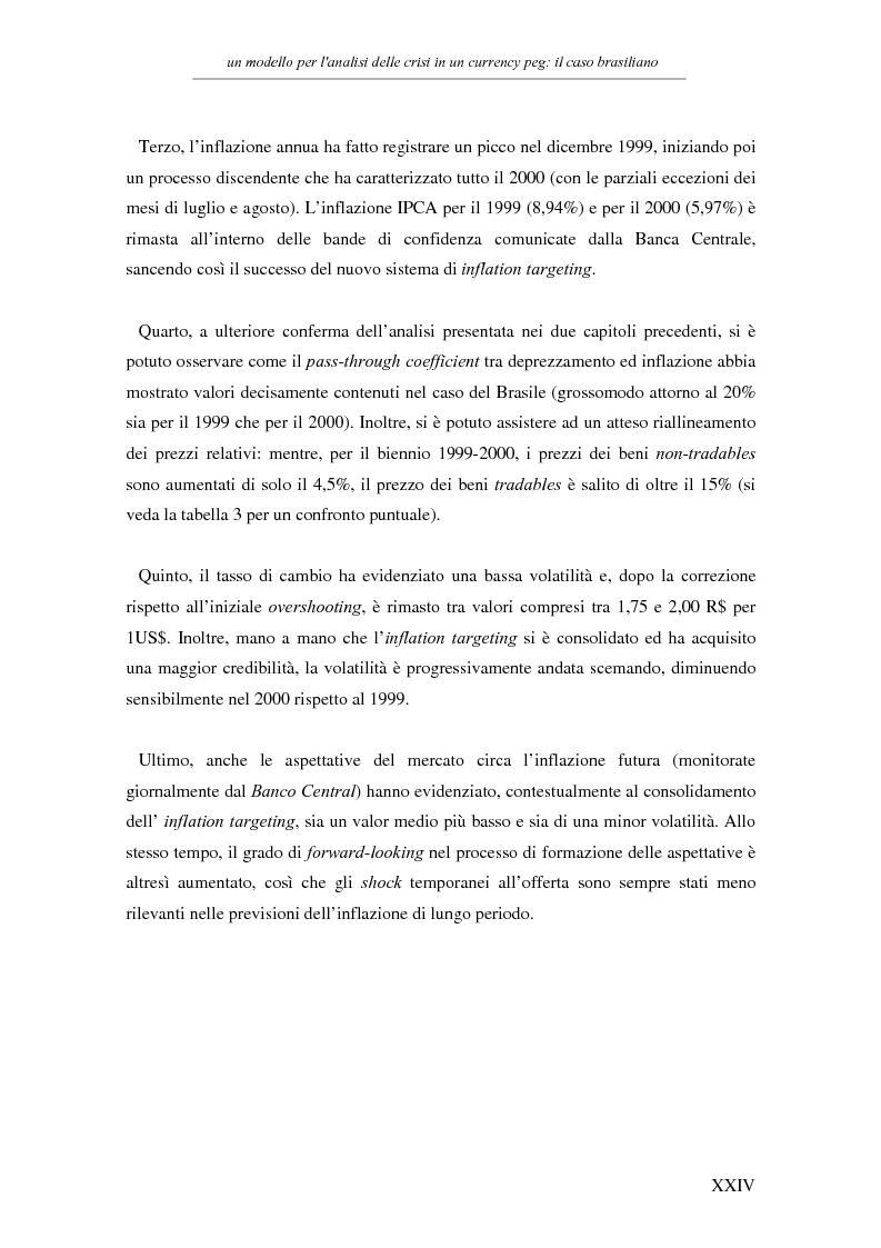 Anteprima della tesi: Un modello per l'analisi delle crisi in un currency peg: il caso brasiliano, Pagina 22