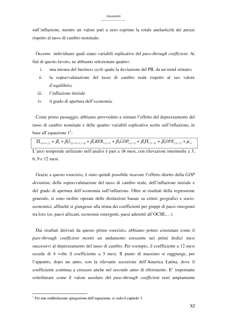 Anteprima della tesi: Un modello per l'analisi delle crisi in un currency peg: il caso brasiliano, Pagina 9