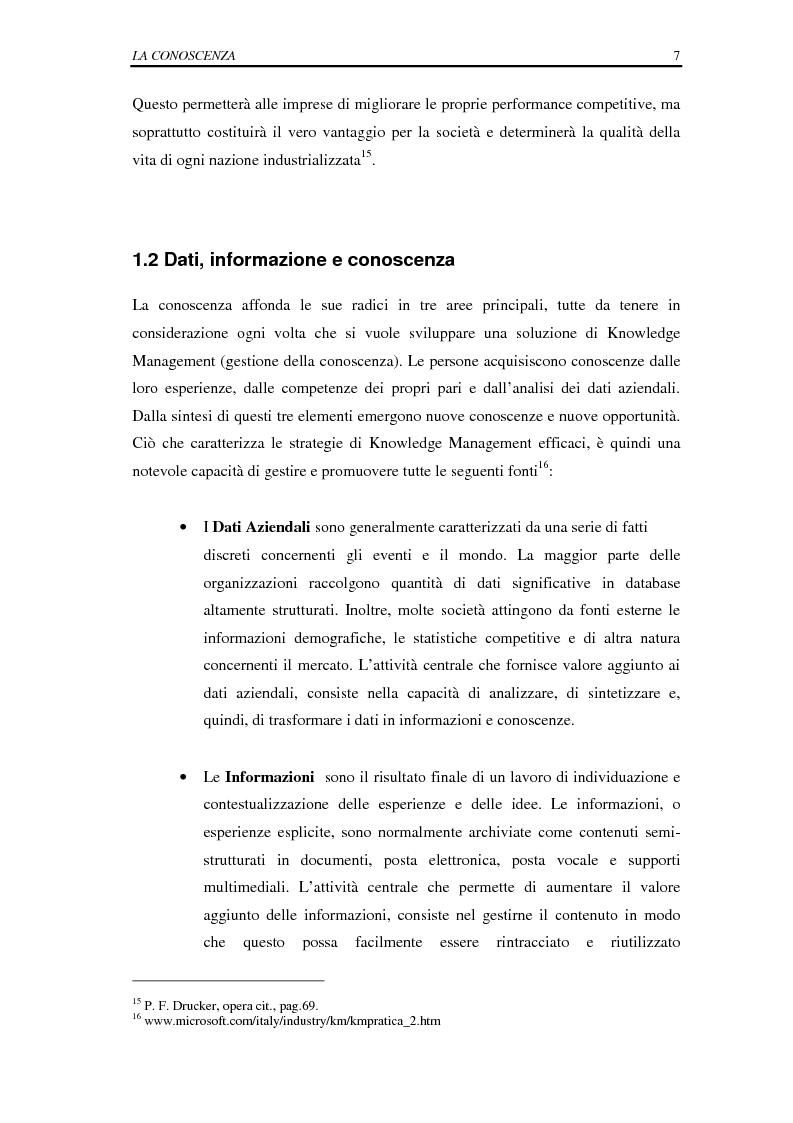 Anteprima della tesi: La selezione e la formazione on-line come supporto alla gestione del capitale intellettuale, Pagina 12