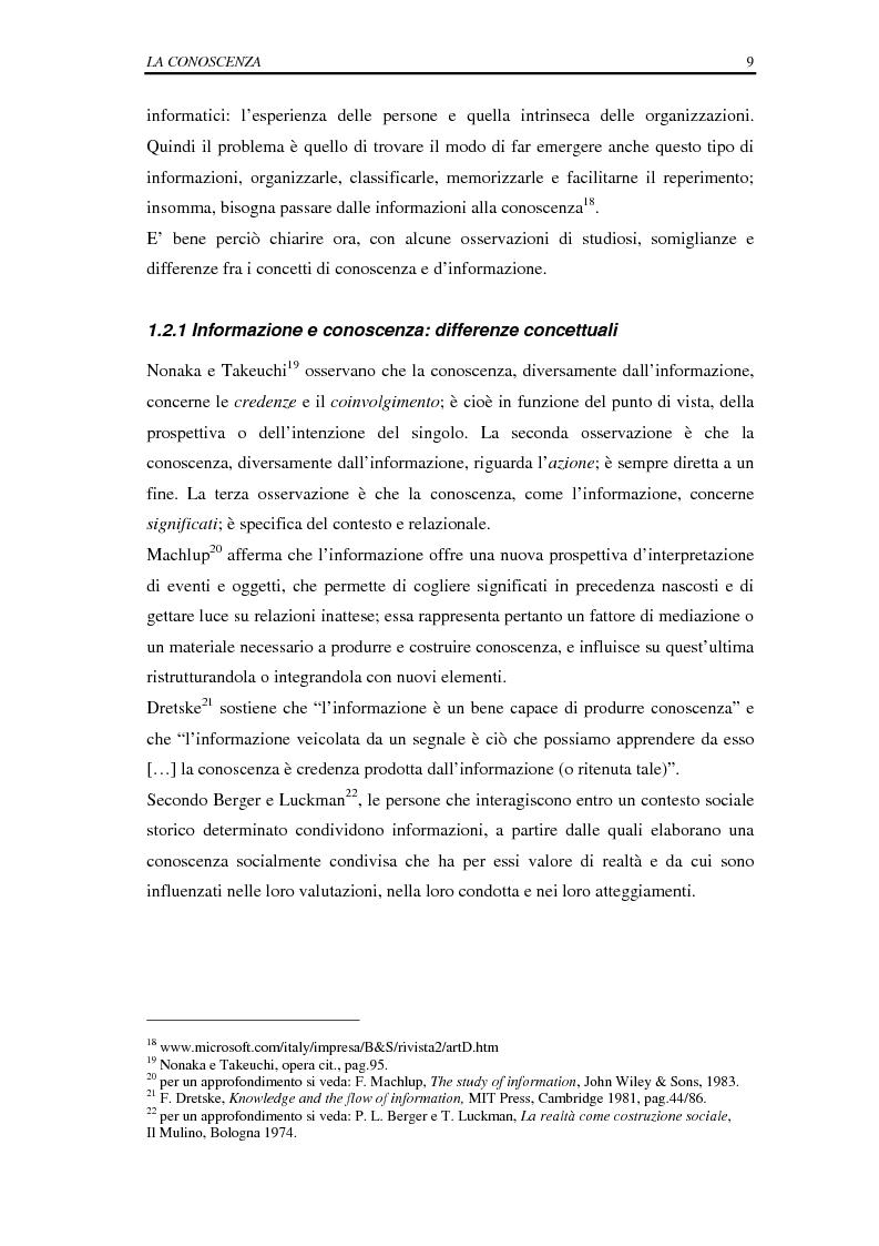 Anteprima della tesi: La selezione e la formazione on-line come supporto alla gestione del capitale intellettuale, Pagina 14