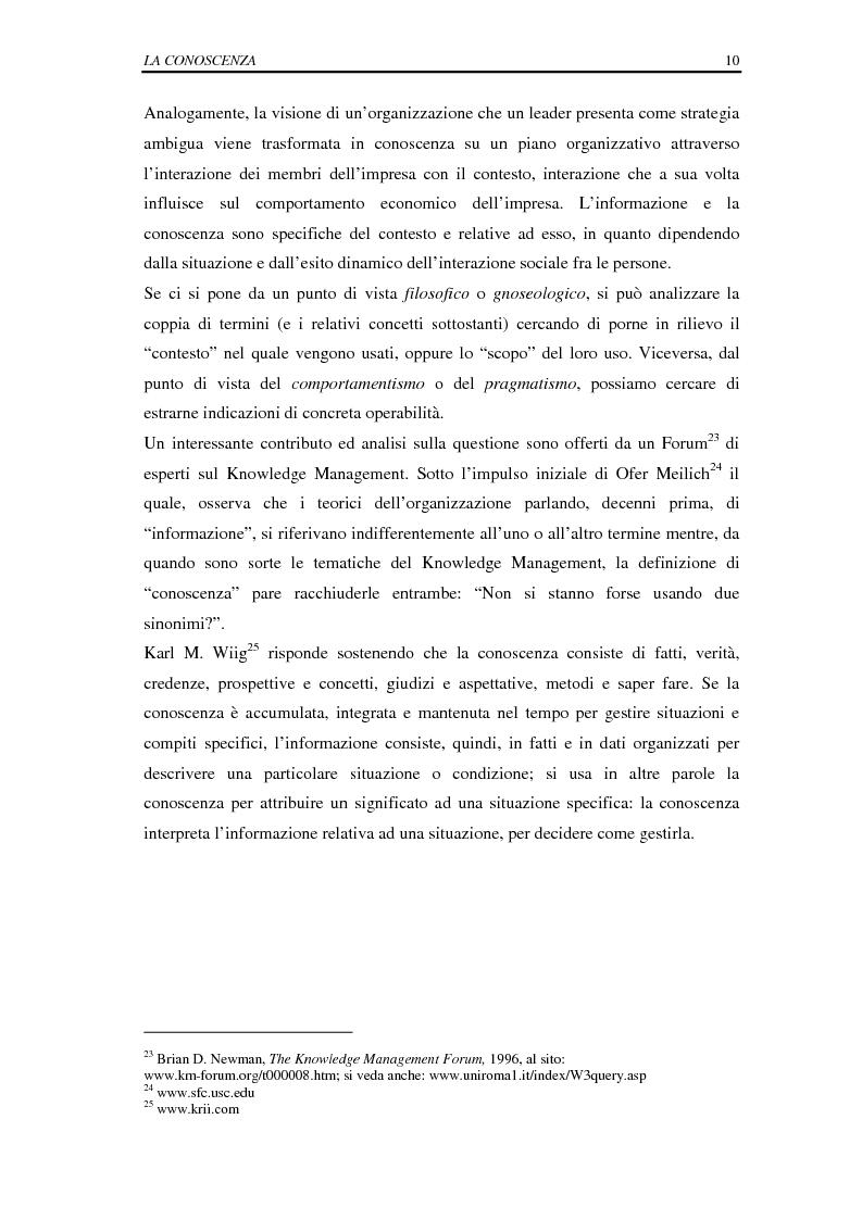 Anteprima della tesi: La selezione e la formazione on-line come supporto alla gestione del capitale intellettuale, Pagina 15