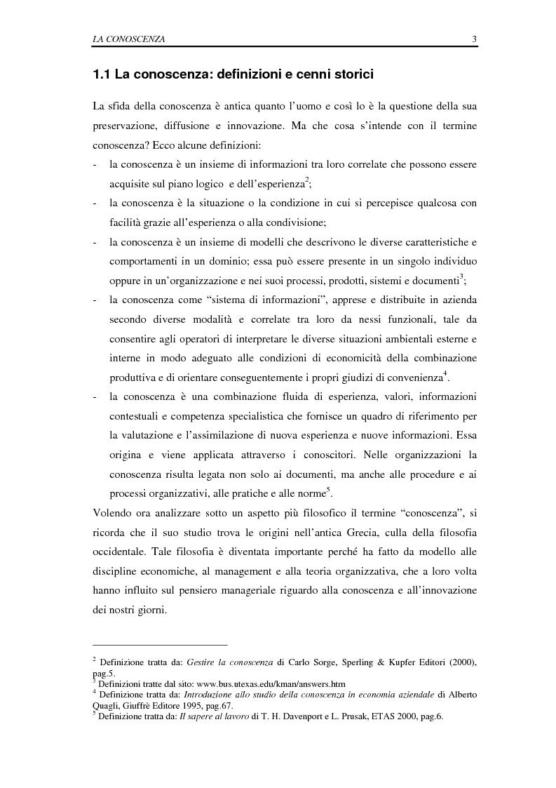 Anteprima della tesi: La selezione e la formazione on-line come supporto alla gestione del capitale intellettuale, Pagina 8