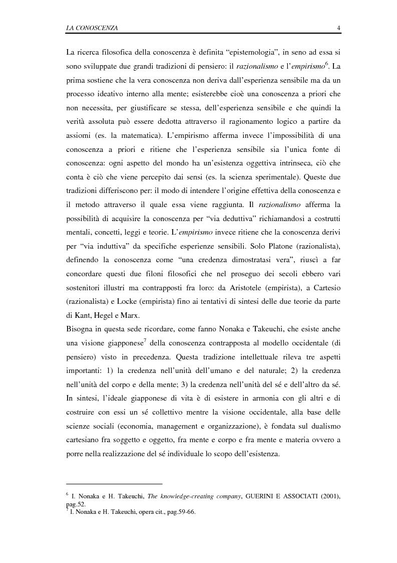 Anteprima della tesi: La selezione e la formazione on-line come supporto alla gestione del capitale intellettuale, Pagina 9