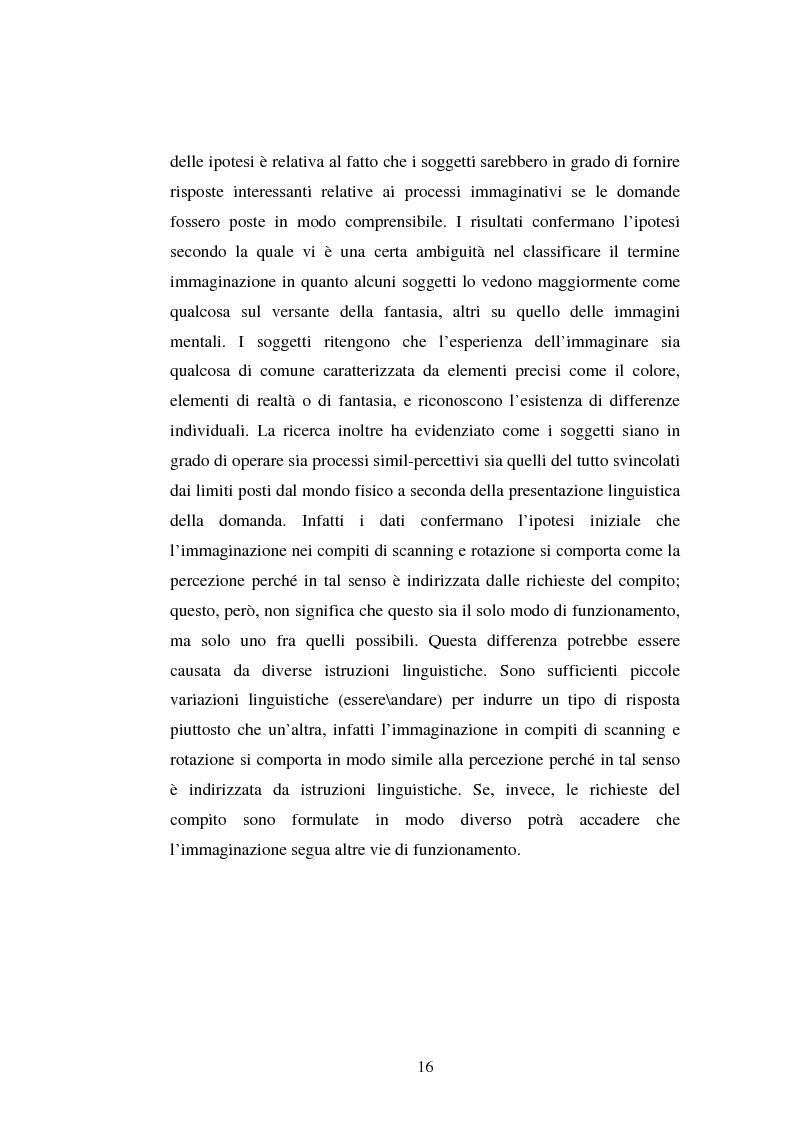 Anteprima della tesi: Processi di memoria e immaginazione in soggetti anziani, Pagina 12