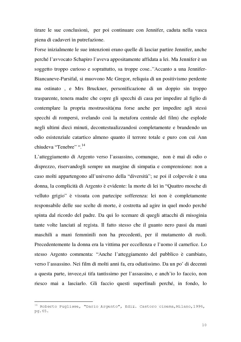 Anteprima della tesi: I film di Dario Argento, Pagina 12