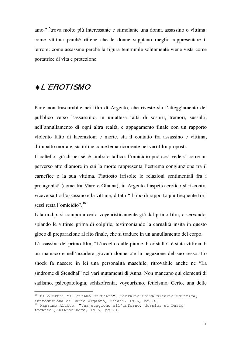 Anteprima della tesi: I film di Dario Argento, Pagina 13