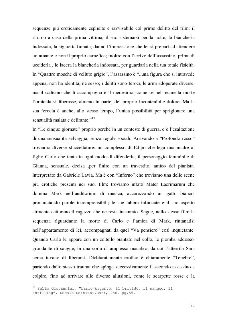 Anteprima della tesi: I film di Dario Argento, Pagina 14