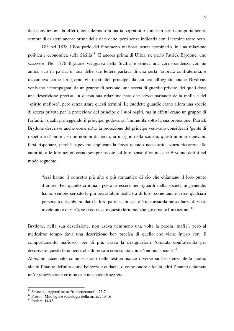 Anteprima della tesi: Indagine sull'immagine cinematografica della mafia, Pagina 6