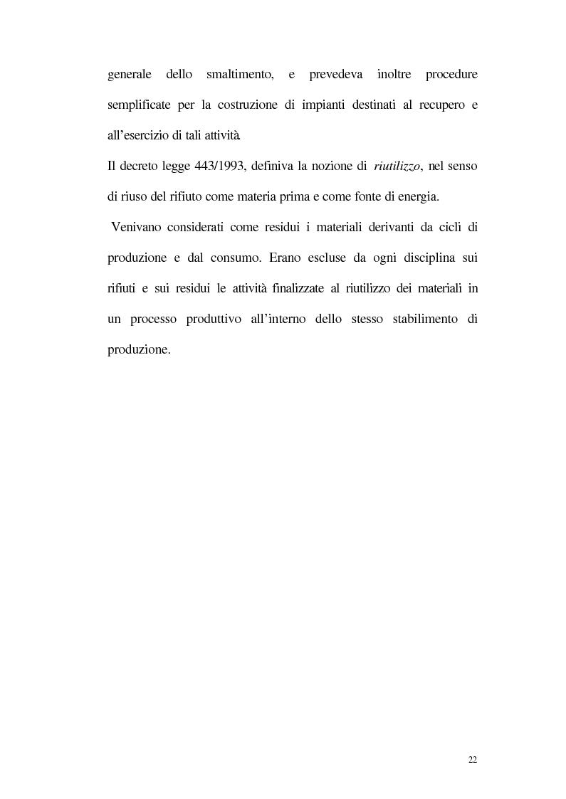 Anteprima della tesi: La disciplina giuridica della gestione dei rifiuti, Pagina 17