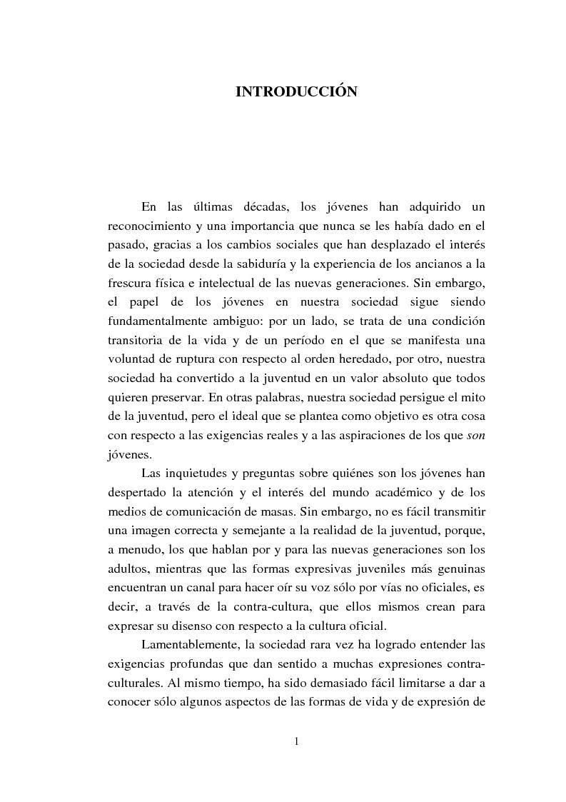 Anteprima della tesi: Cómo se habla de sexo en las revistas españolas para adolescentes, Pagina 1