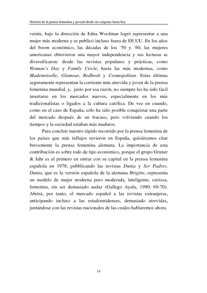 Anteprima della tesi: Cómo se habla de sexo en las revistas españolas para adolescentes, Pagina 12