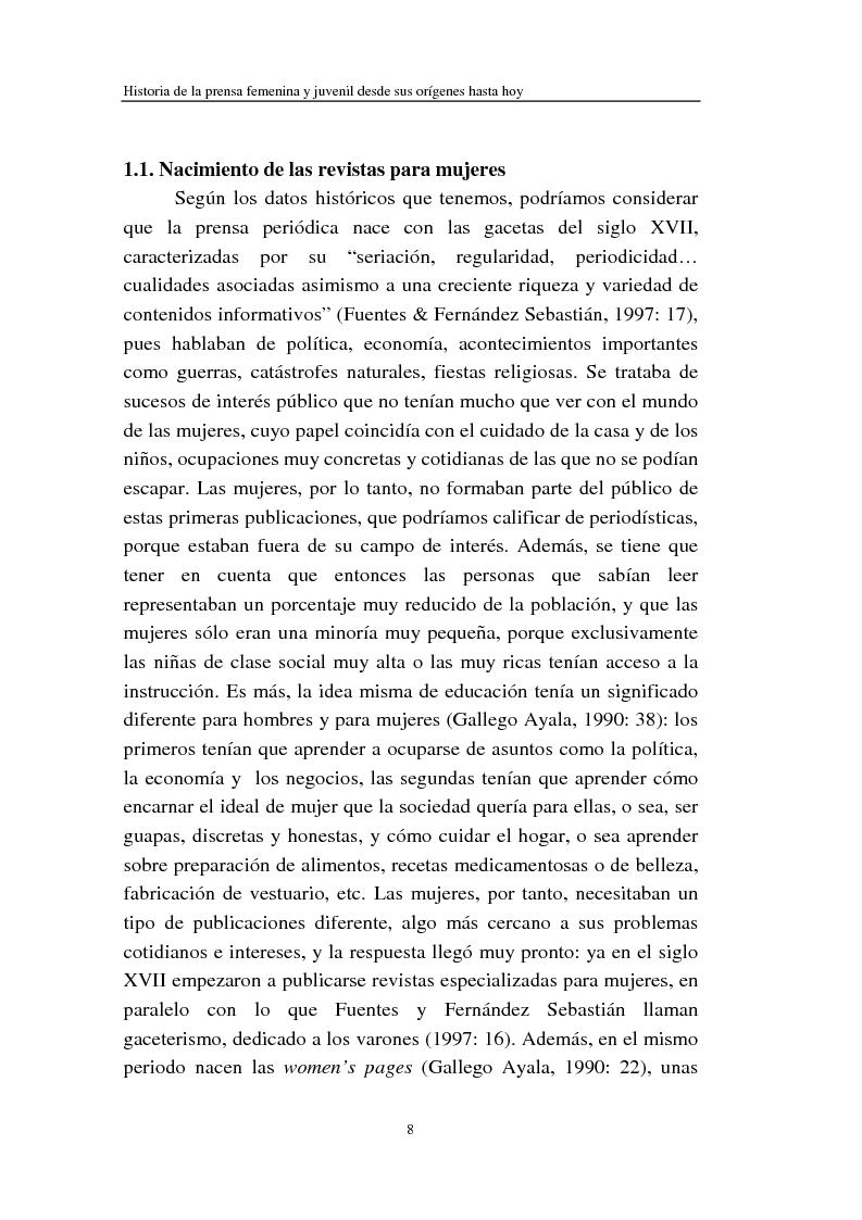 Anteprima della tesi: Cómo se habla de sexo en las revistas españolas para adolescentes, Pagina 6