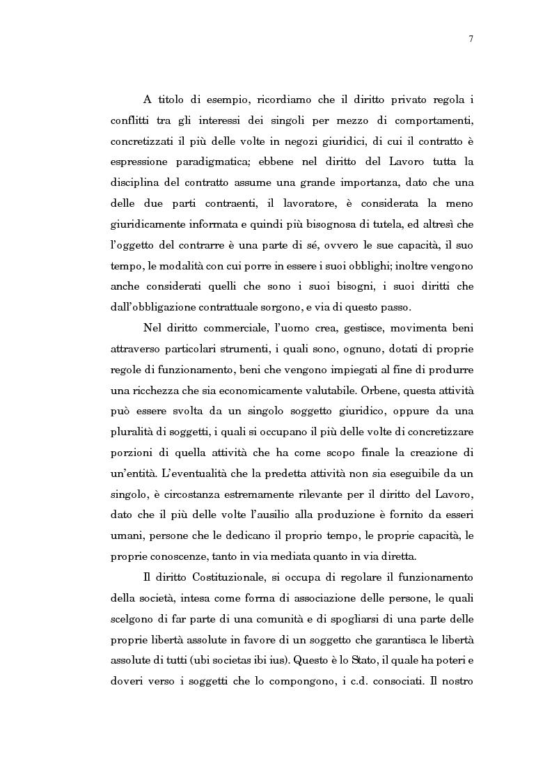Anteprima della tesi: Il trasferimento di azienda, Pagina 3