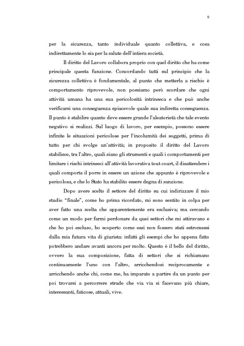 Anteprima della tesi: Il trasferimento di azienda, Pagina 5