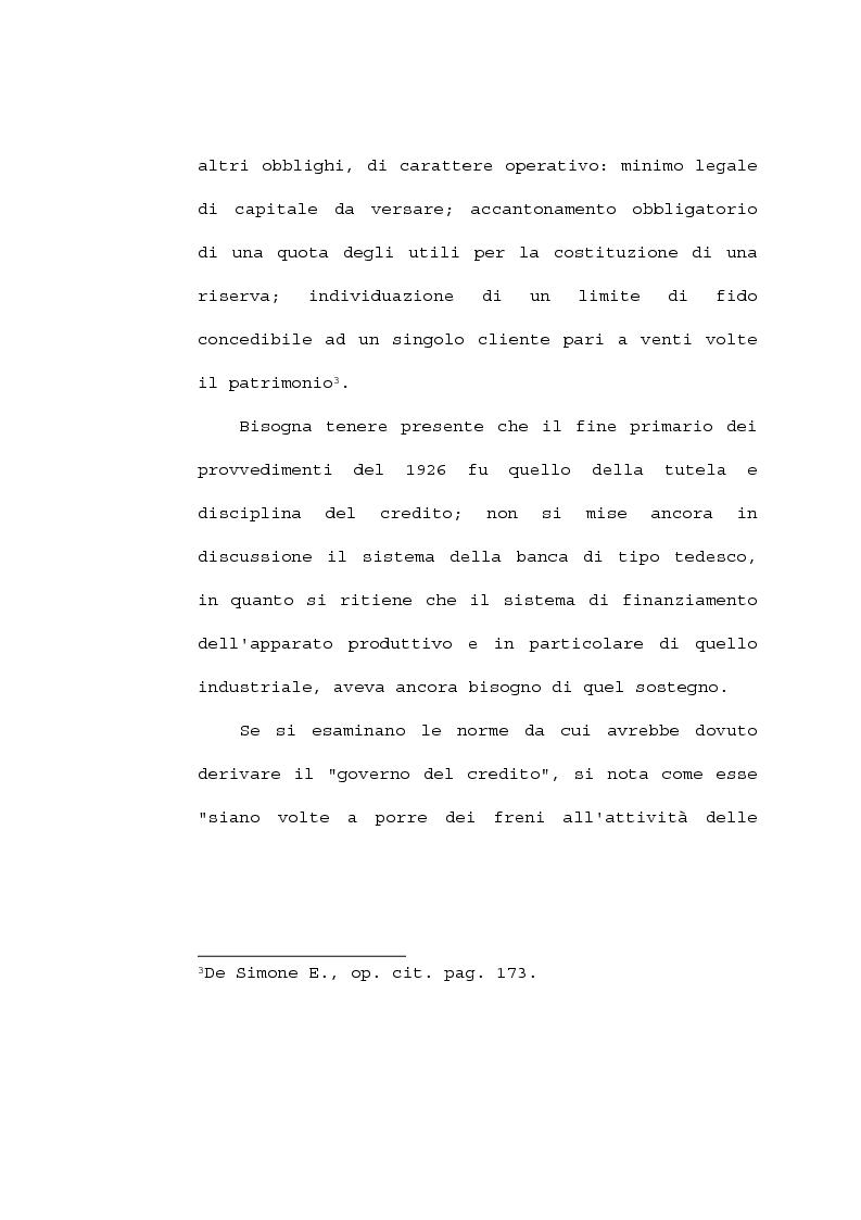 Anteprima della tesi: La partecipazione delle banche al capitale industriale, Pagina 12