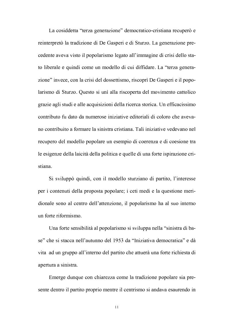Anteprima della tesi: La politica interna del centrosinistra, Pagina 9