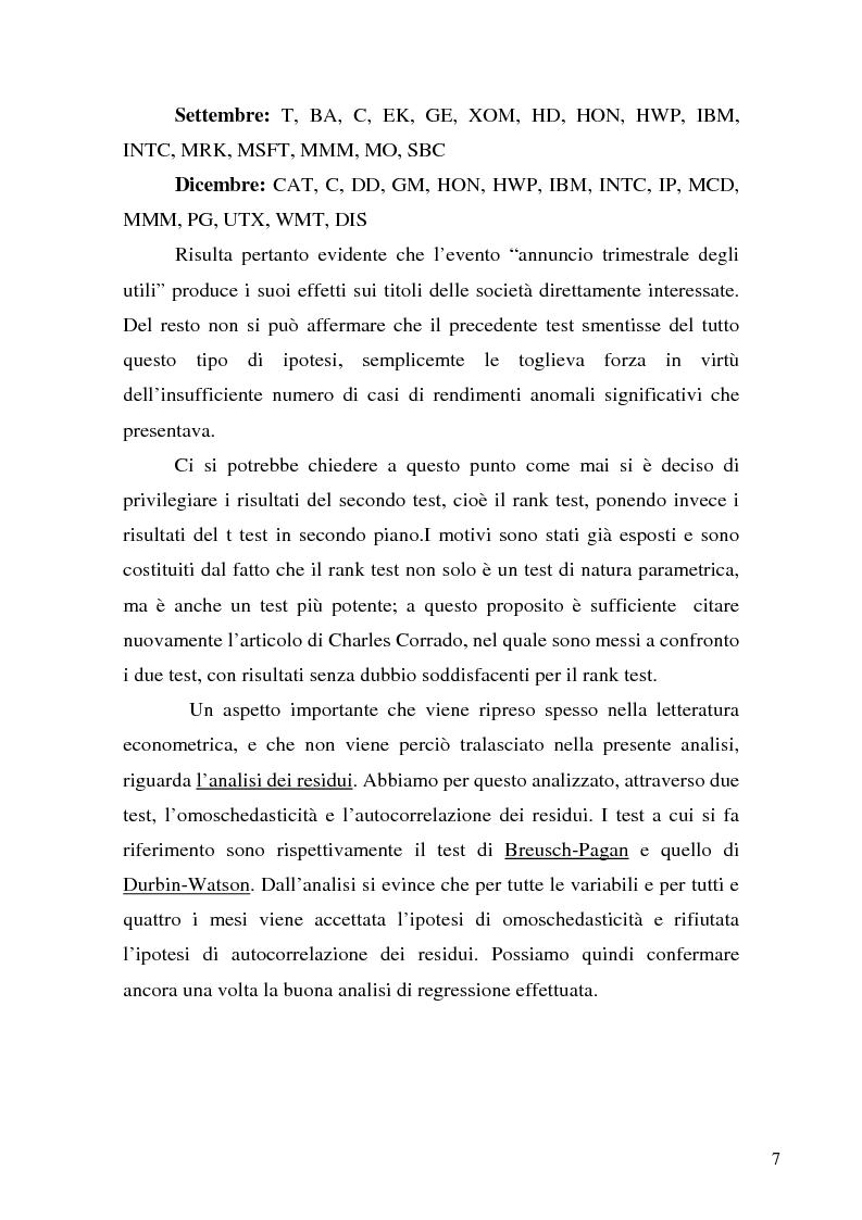 Anteprima della tesi: Event studies in finance, Pagina 7