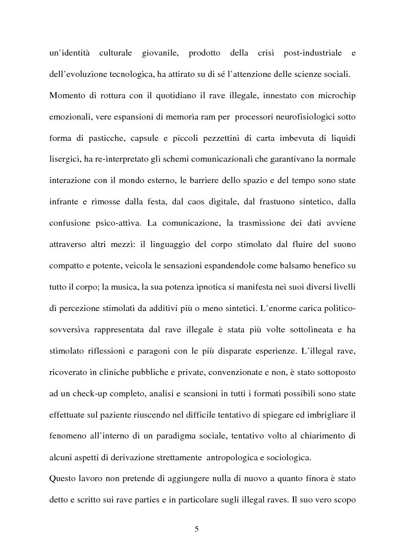 Anteprima della tesi: Technolized. Rave parties e comunità virtuali, Pagina 2