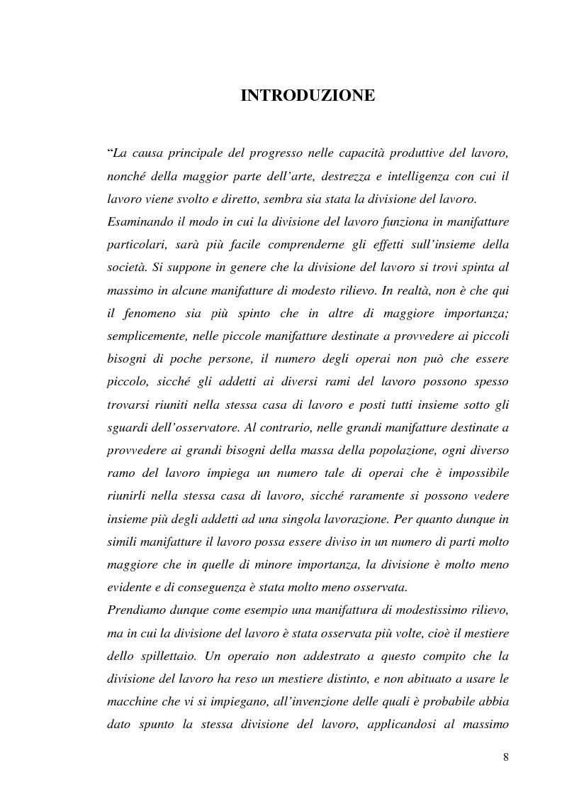 Anteprima della tesi: Il processo di outsourcing ed il modello ASP. Un'analisi del mercato assicurativo, Pagina 3