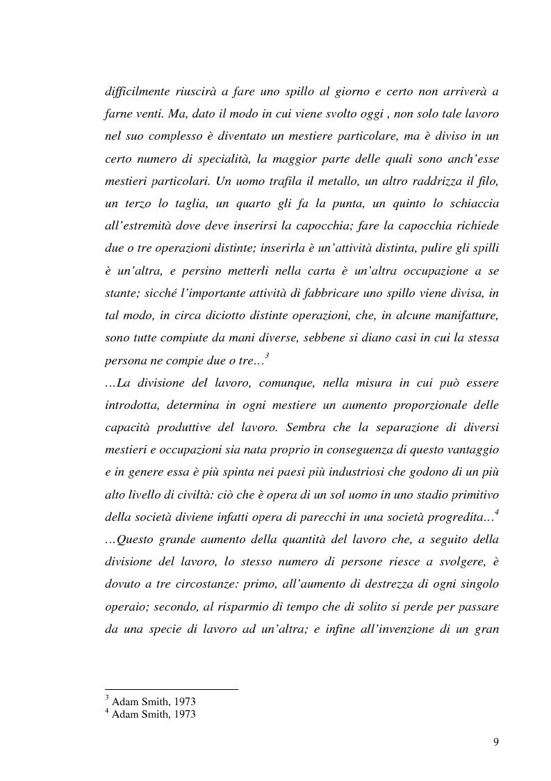 Anteprima della tesi: Il processo di outsourcing ed il modello ASP. Un'analisi del mercato assicurativo, Pagina 4