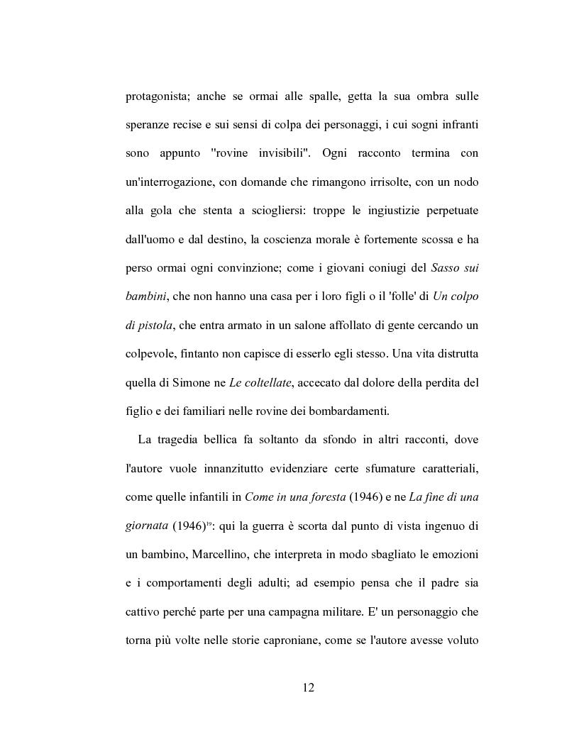 Anteprima della tesi: I racconti di Giorgio Caproni, Pagina 10