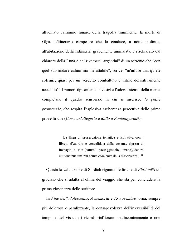 Anteprima della tesi: I racconti di Giorgio Caproni, Pagina 6
