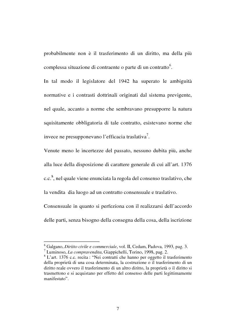 Anteprima della tesi: La compravendita in Internet, Pagina 7
