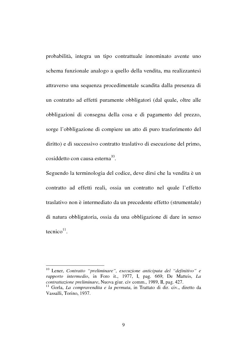 Anteprima della tesi: La compravendita in Internet, Pagina 9