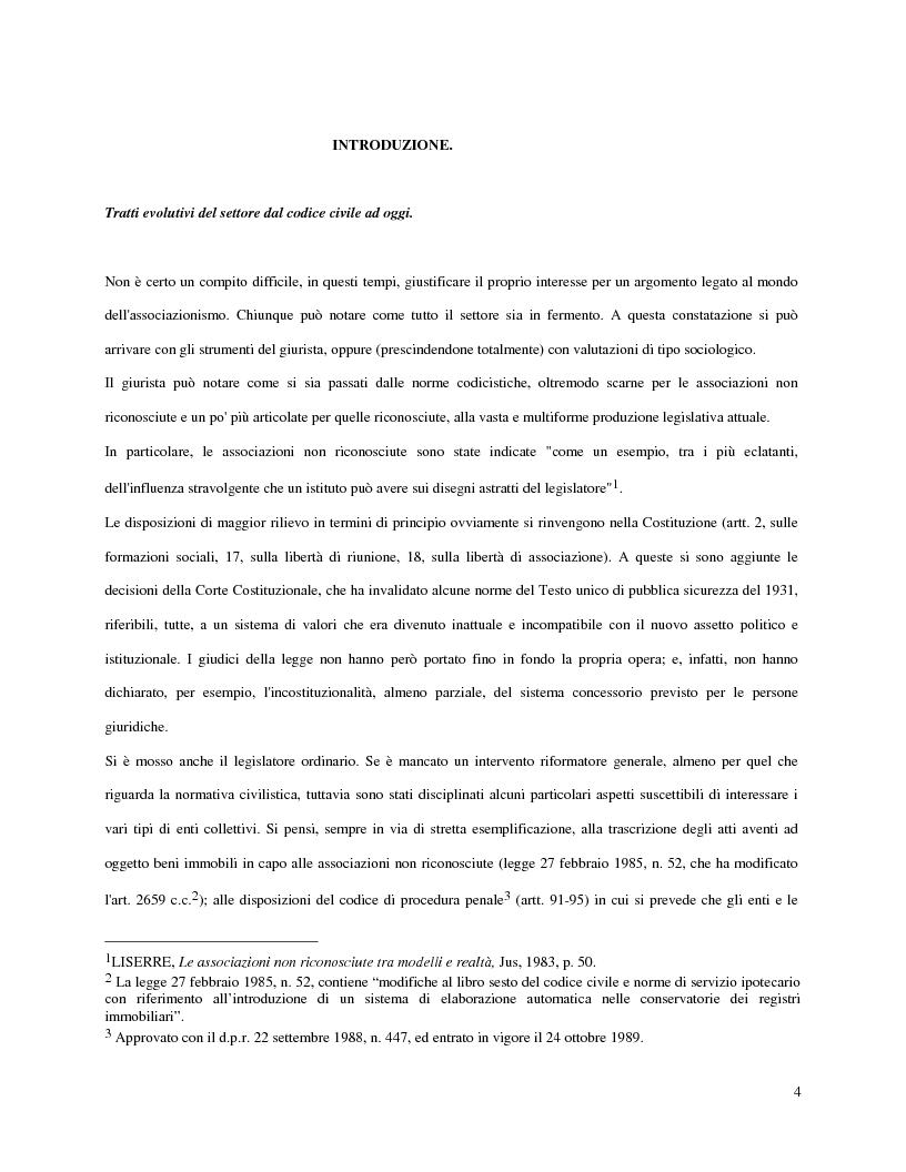 Anteprima della tesi: L'attività d'impresa degli enti senza scopo di lucro, Pagina 1