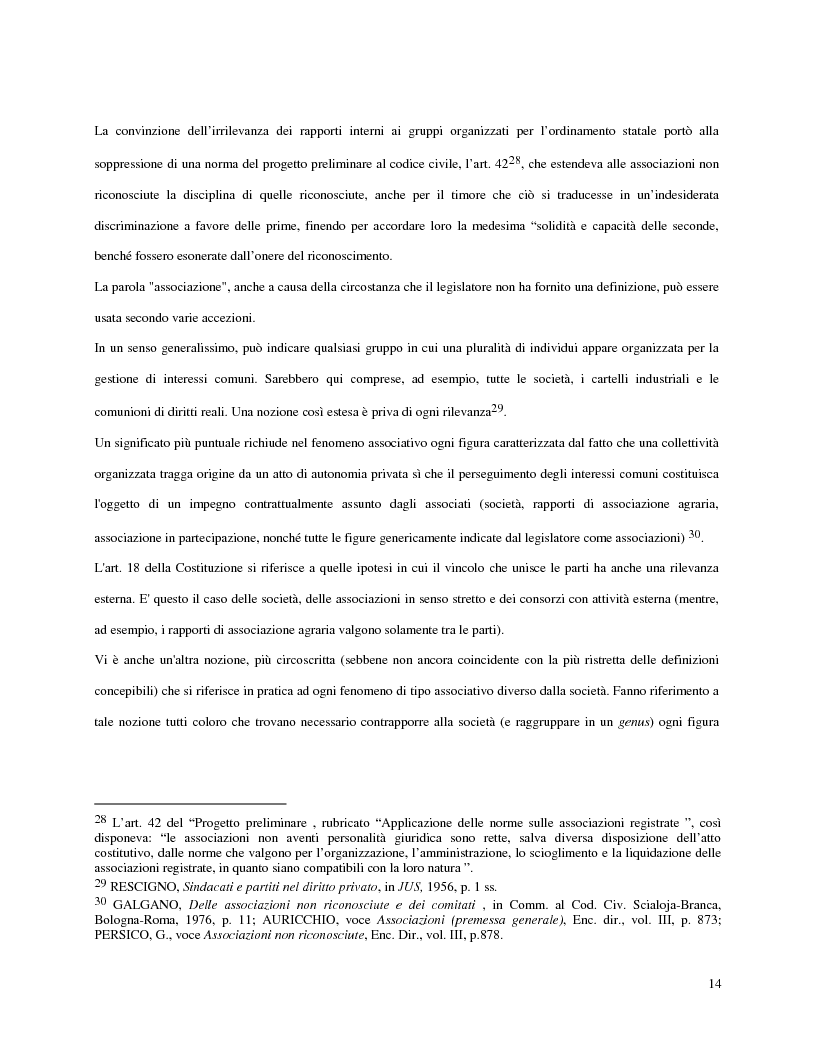 Anteprima della tesi: L'attività d'impresa degli enti senza scopo di lucro, Pagina 11