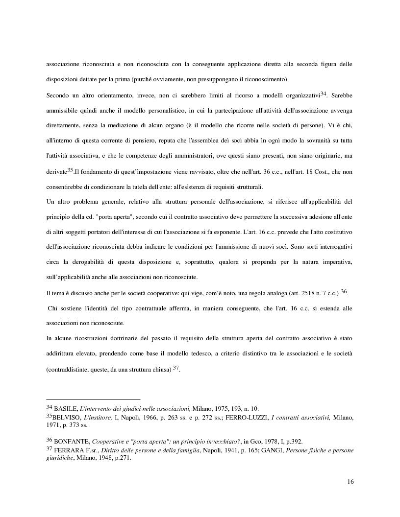Anteprima della tesi: L'attività d'impresa degli enti senza scopo di lucro, Pagina 13