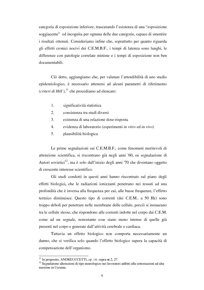 Anteprima della tesi: Inquinamento elettromagnetico da elettrodotti, Pagina 7