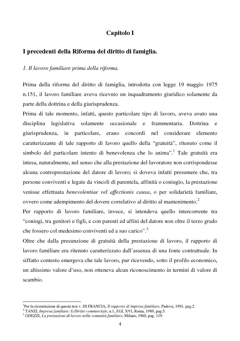 Anteprima della tesi: L'impresa familiare, Pagina 1