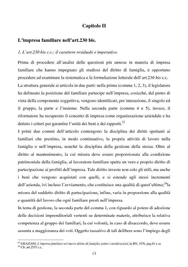 Anteprima della tesi: L'impresa familiare, Pagina 10