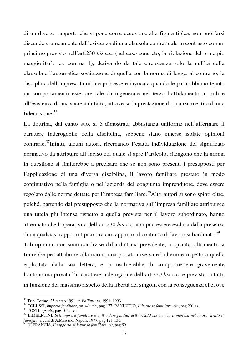 Anteprima della tesi: L'impresa familiare, Pagina 14