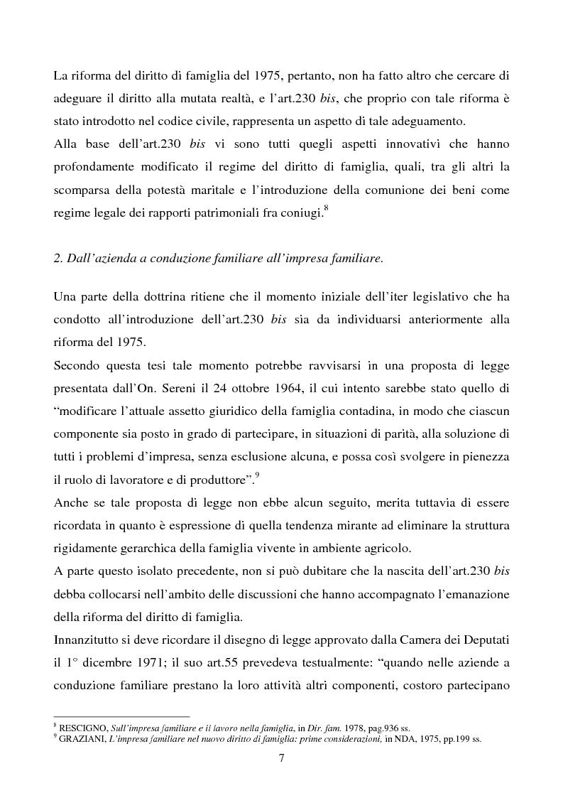 Anteprima della tesi: L'impresa familiare, Pagina 4