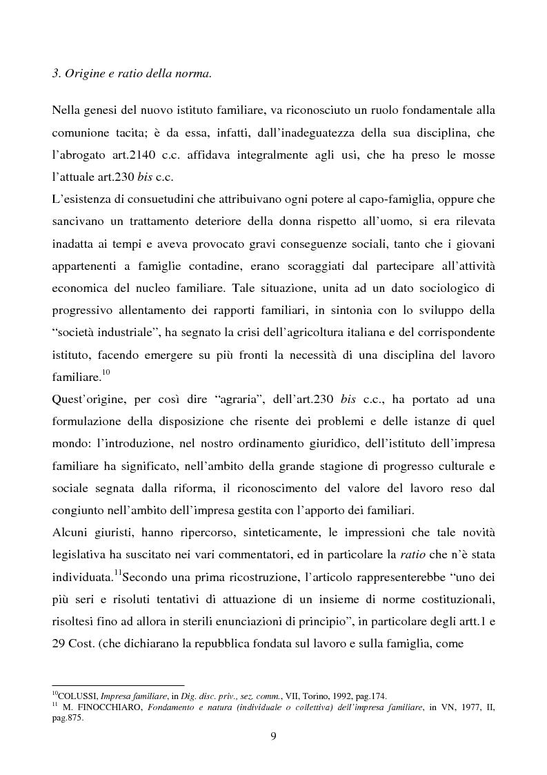 Anteprima della tesi: L'impresa familiare, Pagina 6