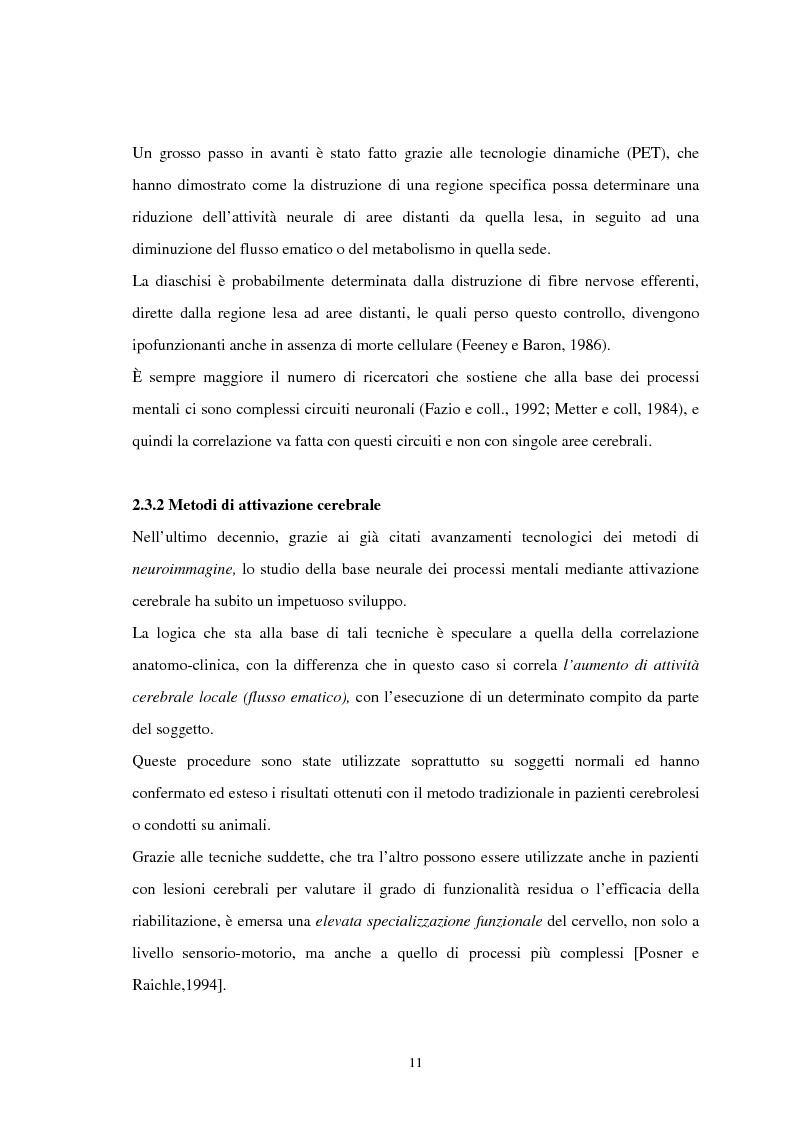 Anteprima della tesi: Aspetti neuropsicologici nei Disturbi della Condotta Alimentare (DCA): contributo personale, Pagina 8