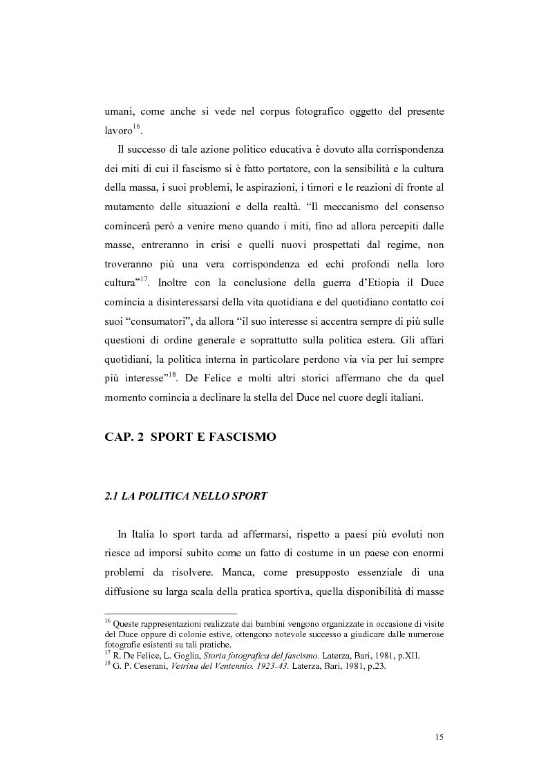Anteprima della tesi: Colonia elioterapica padana. Sport e fascismo a Guastalla, Pagina 15
