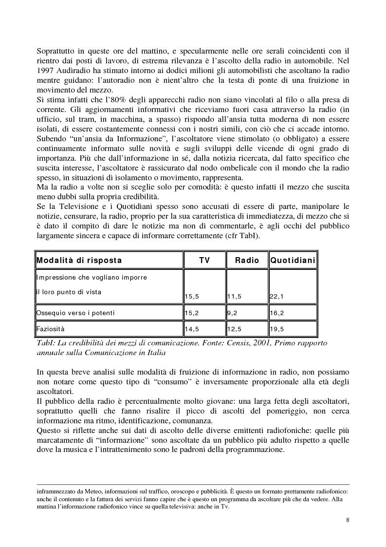 Anteprima della tesi: Radio Radicale e RadioRadicale.it: due strategie comunicative convergenti, Pagina 7